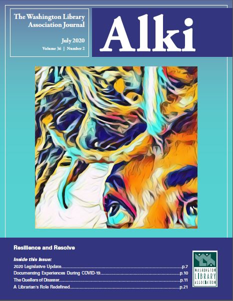 Summer 2020 Cover of Alki: Resilience & Resolve